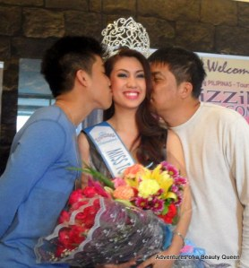 Awwww... the sweetest moment in Rizzini Alexis Gomez' victory party!