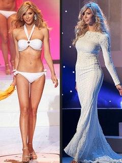 Jenna Talackova - long legged transexual breaks into the Miss Universe Canada 2012 pageant