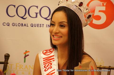Queenierich Rehman, Miss World Philippines 2012
