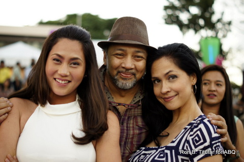 Ron and I with the heiress of the Belo chain of Clinic - Crystal Belo Henares... so gorgeous!