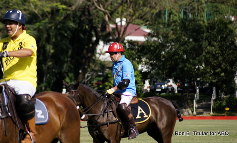 Butch Albert of FILA on his horse!