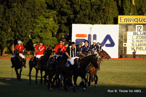 Lots of horsing around at the FILA Polo Cup 2013!