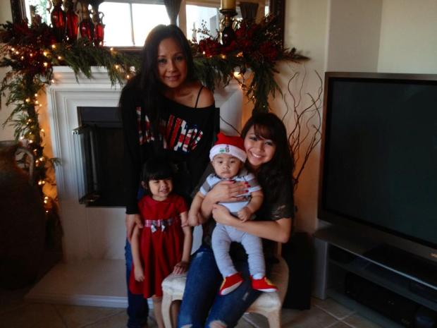 Cita with daughter Nicole and her two apos