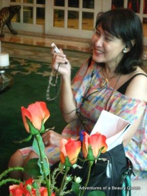 Lorraine Schuck - still smiling amidst the bribery scandal.