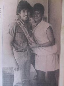 This beautiful couple was hounded by intrigues...  clipping from Tony Paat