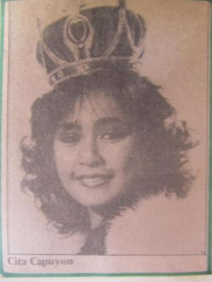 Winning Bb. Pilipinas 1983 - Cita Capuyon!