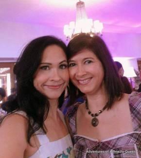 ABQ author Joyce Burton Titular (left) with Jane Brumitt