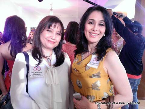 Anette Liwanag and Chiqui Brosas