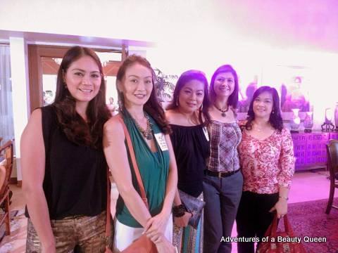 L-R Patty Betita, Marina Benipayo, Desiree Verdadero, Jane Brumitt and does someone know the lady at the far right