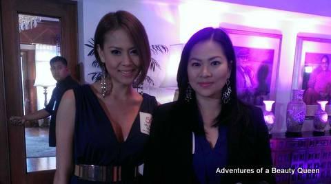 Manalo sisters - Pamela Biance (left) and Kate!