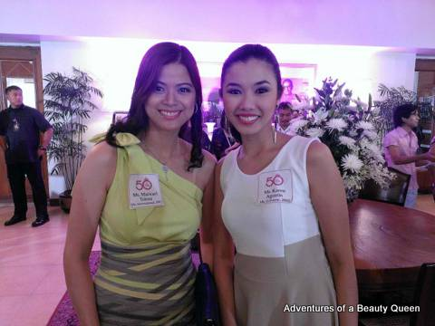 Maricarl Tolosa (left) and Karen Agustin