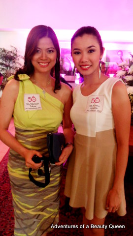 Maricarl Tolosa (left) with Karen Agustin