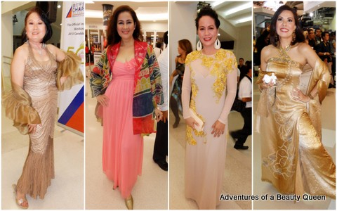 1) Simonette delos Reyes, Selina Manalad, Engr. Muriel Moral and Sharon Hughes