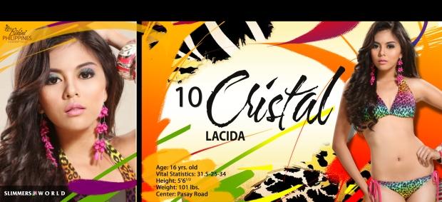 10 cristal lacida