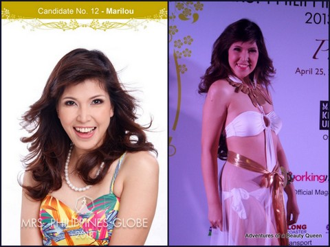 12) Marilou Villanueva (Laguna) 36 yo - Commercial Model and Entrepreneur.