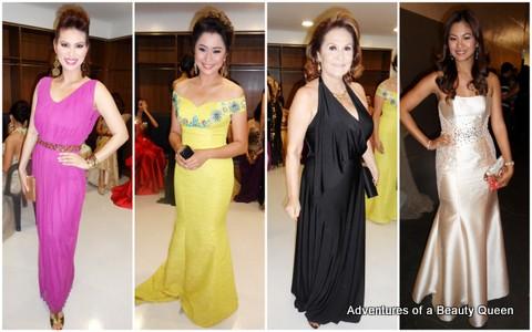13) Abbygale Arenas, Daisy Fuentes, Pilar Pilapil, Miriam Quiambao