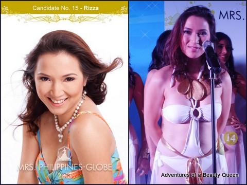 15) Maria Rizza Padilla (Greater Manila Area) 35 yo - Commercial Model, Registered Nurse (Top in Board Exams).