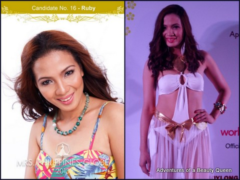 16) Ruby Salazar Papio (Pangasinan) 28 yo - One of Top 10 Women of Confidence chosen by a direct-selling company, Home-based online
