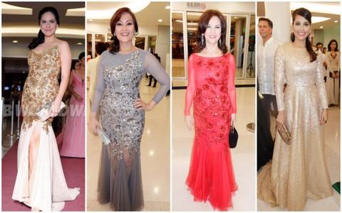 2) The beauty queens from Union Church of Manila - Joyce Ann Burton, Erlynne Bernardez, Peachy Sacasas and Nina Ricci Alagao