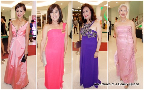 3) Izza Gonzales, Dang Cecilio, Anette Liwanag and Evelyn Camus