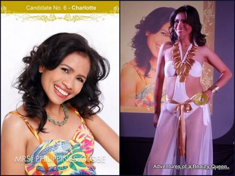 6) Charlotte Fresco (Cavite) - 36 yo - Senior Science Research Specialist. Writes scripts and screenplays