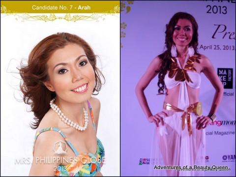 7) Arah Margarita Ty - (Greater Manila Area) 34 yo - Internist and Aesthtic Doctor. Health and wellness speaker.