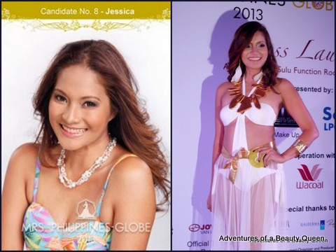 8) Jessica Eribal (Cebu) - 35 yo - My Pretty Mama 2012 Winner (Cebu), HR Consultant, Model and Breast Cancer awareness advocate.