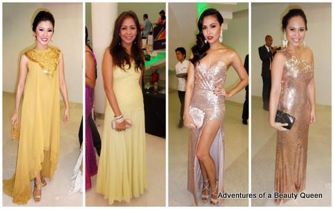 8) Karen Agustin, Gem Padilla, Maggie Wilson and Anna Igpit