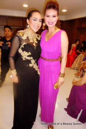 By BFF forever Alma Concepcion (black) with a stately queen in purple...