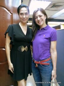 ABQ Blog Author Joyce Burton Titular with Bb. Pilipinas International 1986 Alice Dixson...