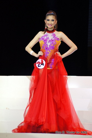 Cristlet Rose Gerona wins Best in Long Gown MTWP 2013