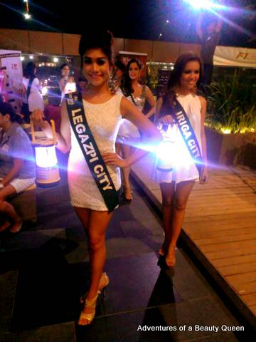Legazpi (Casey Ann Austria) and Iriga (Katherine Dominique Lagrimas) - Miss Philippines Earth 2013