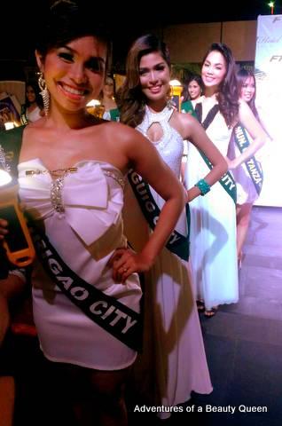 More Miss Philippines Earth 2013 beauties! Surigao City (Joanna Jane Janson), Taguig City (Charmaine Hernandez) and Talisay I think (Maria Eliza Zosa)