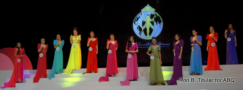 The Top 12 in Miss Tourism World Philippines 2013