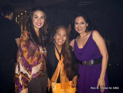 With my pageant BFF Zeny Seifert (middle) and her gorgeous daughter Sandra Seifert, Miss Philippines Earth 2009!