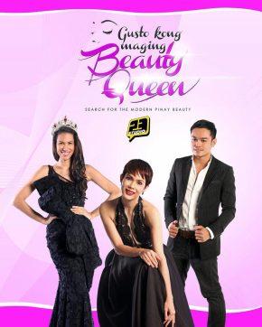 Gusto Kong Maging Beauty Queen judges Gwen Ruais, Angel Jacob and Michael Carandang