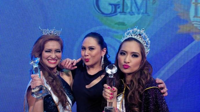 L-R - Lubesly Tellidua, Carla Cabrera Quimpo and Steph Malibiran - Congratulations GIRLS!!!