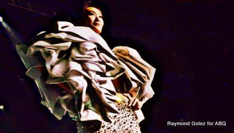 Marina Benipayo, Body Shots Aluma, never ceases to amaze when on the stage...