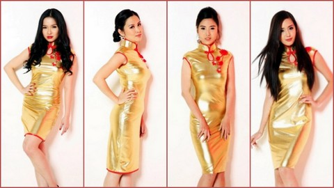 L-R #1 Jerene Tan, #2Robyn Tan, #3 Michelle Marie Sy and #4 Rolini Lim Pineda