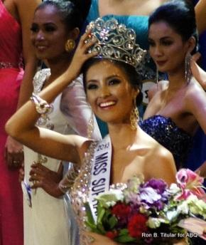 Mutya Jahana Datul is crowned Supranational winner at the Bb. Pilipinas 2013 Gold Edition!
