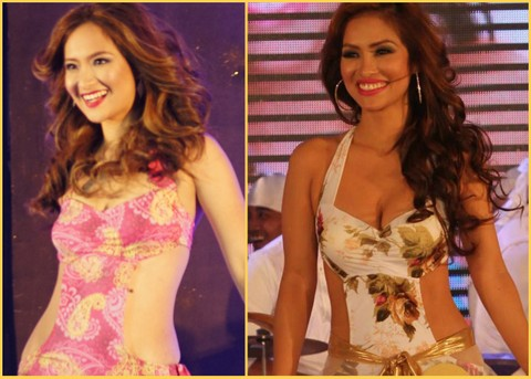 Steph Malibiran (left) and Lubesly Tellidua will represent the Philippines in the Mrs. Asia International Pageant 2013 on June 16 in Malaysia!