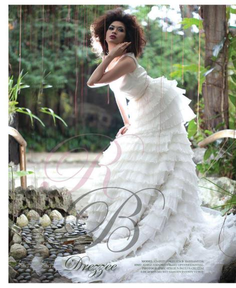 Clarize Angelica Barrameda in the December 2012 Issue of Real Bride Magazine