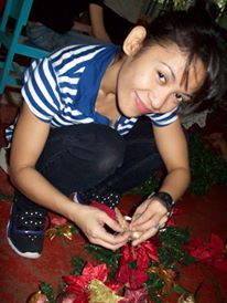Heart of Gold... Aia de Leon at one of my charity events. We were decorating an orphanage in Pasig for Christmas