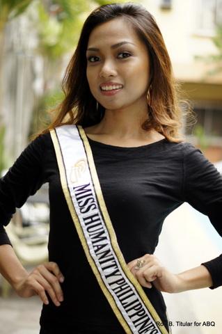 Monica Misenas, Miss Humanity Philippines 2013