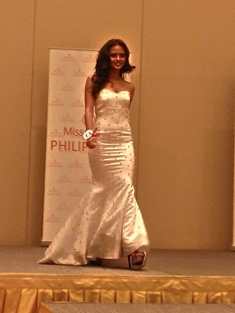Patricia Lae Ejercitado was a favorite for the crown in Bb. Pilipinas 2012. Although she didn't win, this doll-like beauty entered the Top 12.