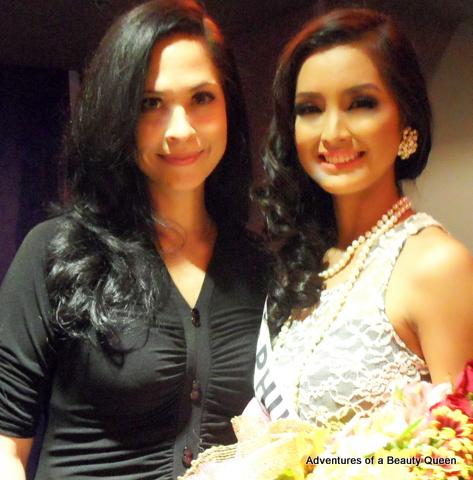 15) ABQ author Joyce Burton Titular (left) with Miss Supranational Philippines 2013 Mutya Datul!