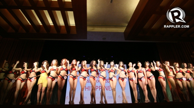 Miss World Philippines 2013 Official Contestants... photo courtesy of Rappler