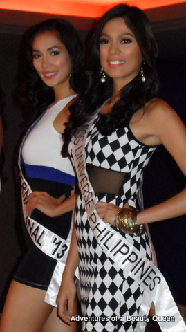 3) Bb. Pilipinas International 2013 Bea Santiago with Ara Arida, Bb. Pilipinas Universe 2013