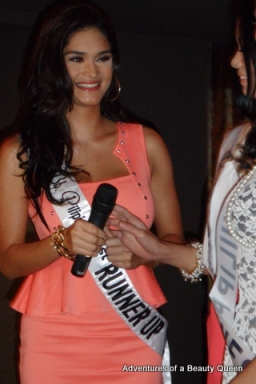 4) Bb. Pilipinas 1st Runner-up Pia Wurtzback gives her message to Mutya