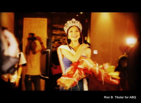 1) Mutya Datul arrives at her Supranational Homecoming Party at Gloria Maris, Gateway Mall, Cubao